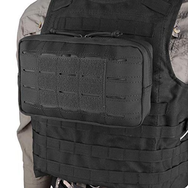 AMYIPO Tactical Pouch 6 AMYIPO Equipment Multi-Purpose Tactical Molle Admin Pouch EDC Utility Tools Bag Utility Pouches Molle Attachment Military Modular Attachment Small Pouch