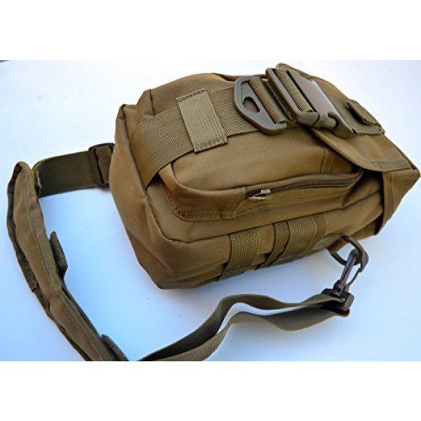 Acid Tactical Tactical Pouch 5 Acid Tactical MOLLE First Aid Bag Pouch Trauma TAN/Sand EMT Medic Utility
