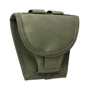 NcSTAR Tactical Pouch 1 NcSTAR NC Star CVHCP2973G, Handcuff Pouch, Green