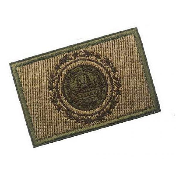 Embroidery Patch Airsoft Morale Patch 2 US New Hampshire State Flag Military Hook Loop Tactics Morale Embroidered Patch