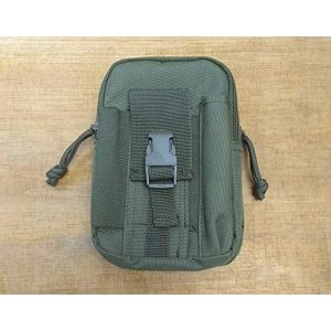 Fox Outdoor Tactical Pouch 1 Fox Outdoor 56-190 Deluxe Modular Tech Pouch - Olive Drab, Multi, One Size