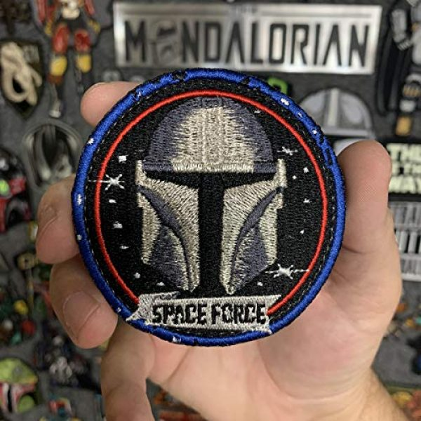 American Sheepdog Airsoft Morale Patch 1 Space Force Mando Patch