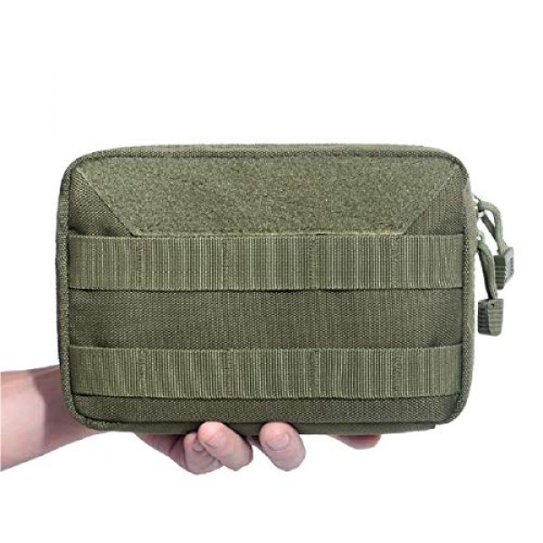 Azarxis Tactical Pouch 5 Azarxis Tactical MOLLE Rip-Away EMT Medical First Aid IFAK Blowout Pouch Trauma Bag