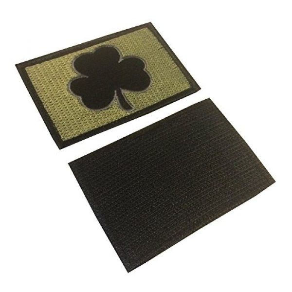 Backwoods Barnaby Airsoft Morale Patch 2 Backwoods Barnaby Shamrock Tactical Morale Patch with Hook & Loop