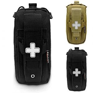 Falcon MediTac Tactical Pouch 1 New Falcon Medi-Tac Tactical EMT Pouch Everyday Carry First Aid Pouch with Molle System and Tourniquet Holder