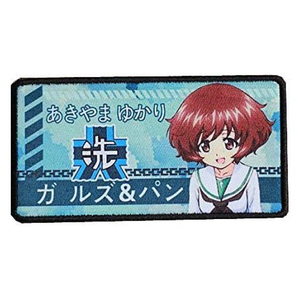Fine Print Patch Airsoft Morale Patch 1 Japan Anime Girls & Panzer Hook Loop Tactics Morale Printed Patch (color4)