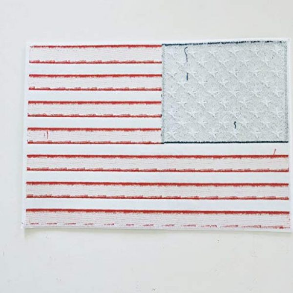 """Heavens Tvcz Airsoft Morale Patch 7 Heavens Tvcz Large XXL National Flag Embroidered Motorcycle for Men Women Teens Patches Thin Red White Line Morale Stars On Blue Background Tactical US Flag Worn Black United Jeans Women Patch 11"""" x 7"""