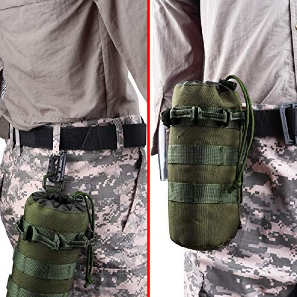 AMYIPO Tactical Pouch 6 AMYIPO Tactical MOLLE Water Bottle Pouch
