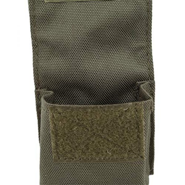 Bigsweety Tactical Pouch 3 Bigsweety Outdoor Portable Combat Pouch Flashlight Sheath Airsoft Hunting Hanging Bags for Men Women (Green)