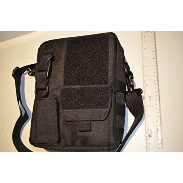 Acid Tactical Tactical Pouch 6 Acid Tactical MOLLE First Aid Bag Pouch Trauma EMT Medic Utility - Black
