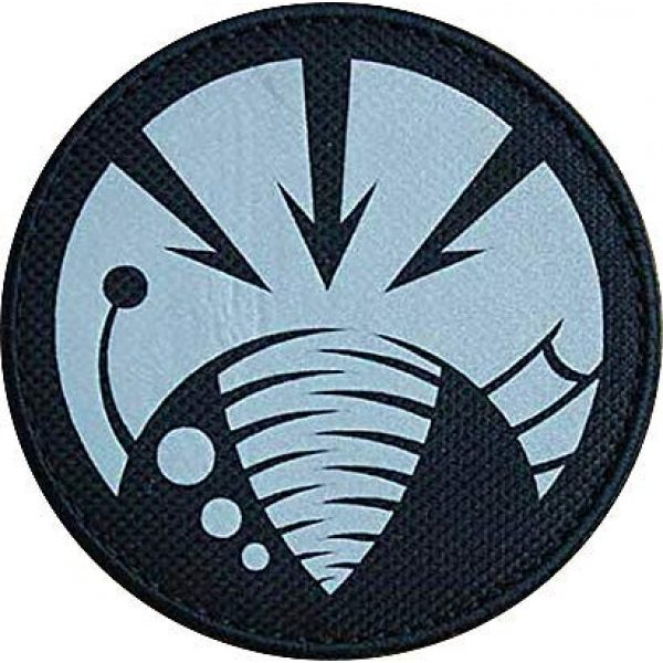 """Embroidery Patch Airsoft Morale Patch 1 SCP Foundation Special Containment Procedures Foundation SCP Mobile Task Forces Gamma-6 Deep Feeders"""" Military Hook Loop Tactics Morale Reflective Patch"""