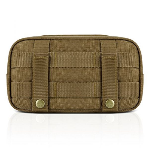 Barbarians Tactical Pouch 4 Barbarians Tactical MOLLE Utility Pouch Compact Horizontal, EDC Multi-Purpose Admin Pouch Bag