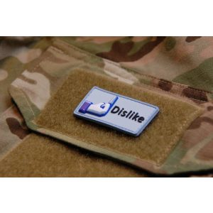 Britkit Airsoft Morale Patch 1 3d PVC Facebook Dislike Morale Patch Army Military