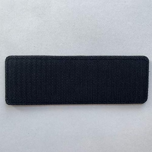 """uuKen Airsoft Morale Patch 4 uuKen Embroidery Fabric Cloth K9 Large Service Dog Embroidered Military Tactical Patch 6x2 inches with Hook Fastener Back for Tactical Vest or Harness K9 Collar (OD Green and Black, 6""""x2"""")"""