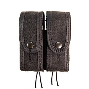 High Speed Gear Tactical Pouch 1 High Speed Gear HSG - HSGI: Duty DBL Pistol TACO Covered Univ Mount - functions the same as double pistol TACO with hidden shock cord - Black