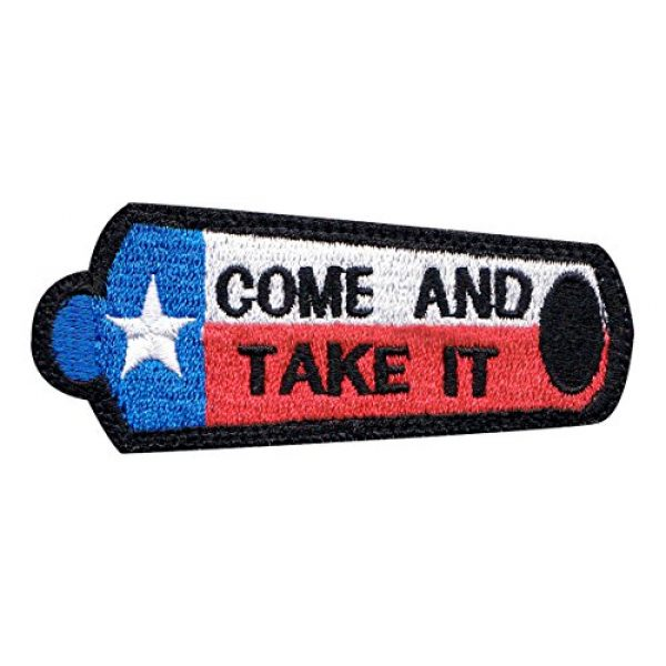 Tactical Patch Works Airsoft Morale Patch 1 Texas Come And Take It Canon Flag Patch