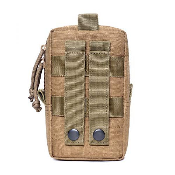 Azarxis Tactical Pouch 3 Azarxis Tactical EDC Pouch, Molle Utility Pouches Gadget Organizer Phone Holder Waist Pack IFAK Bag Smartphone Pouch Tool Holster Pocket