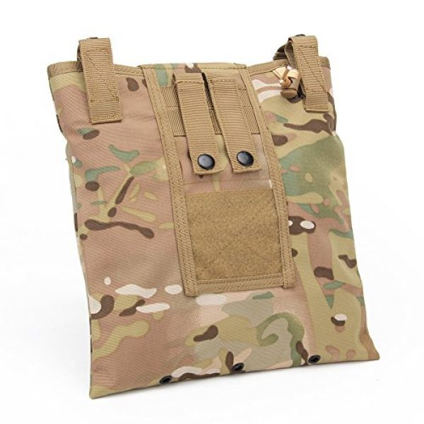 ATAIRSOFT Tactical Pouch 7 ATAIRSOFT Molle System Tactical Foldable Dump Magazine Pouch Hunting Recovery Bag Drop Pouches