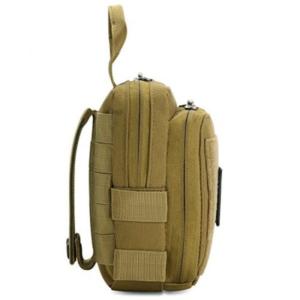 Barbarians Tactical Pouch 6 Barbarians Tactical Admin Pouch, MOLLE Military Tool Map Bag Organizer