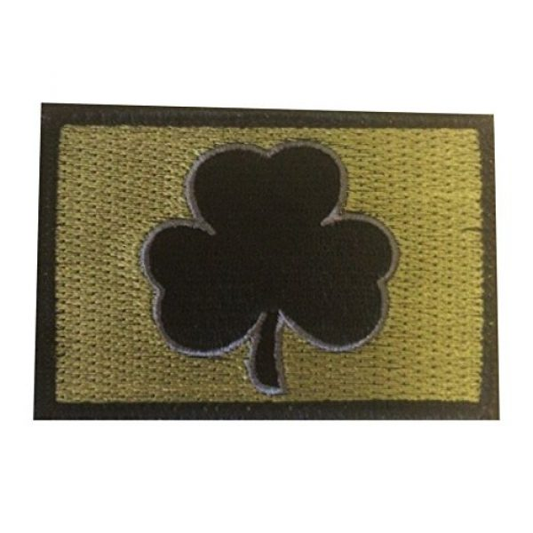 Backwoods Barnaby Airsoft Morale Patch 1 Backwoods Barnaby Shamrock Tactical Morale Patch with Hook & Loop