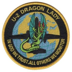 Tactical Embroidery Patch Airsoft Morale Patch 1 Air Force Lockheed U-2 Dragon Lady CIA Vietnam Iraq Afghanistan Russia Tactical Embroidery Patch Hook & Loop Morale Patch Military Patch for Clothing Accessory Backpack Armband