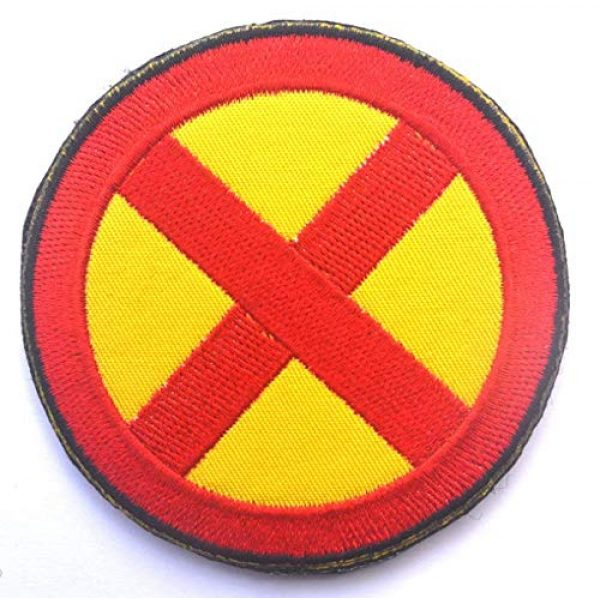 """Embroidered Patch Airsoft Morale Patch 1 2"""" Marvel Comics X-Men Wolverine Movie 3D Tactical Patch Military Embroidered Morale Tags Badge Embroidered Patch DIY Applique Shoulder Patch Embroidery Gift Patch"""