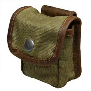 Hide & Drink Tactical Pouch 1 Hide & Drink, Water Resistant Waxed Canvas Belt Pouch, Multi-Purpose Bag, Utility Pouch for Hiking Hunting Fishing, Camping & Outdoor Accessories, Handmade Includes 101 Year Warranty :: Fatigue