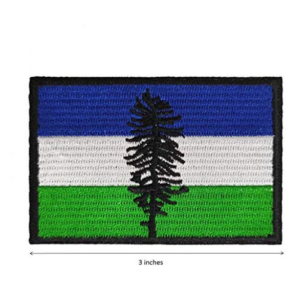 Cute-Patch Airsoft Morale Patch 2 Cascadia The Doug Flag Cascadian Embroidered Iron On Sew On Patch Badge