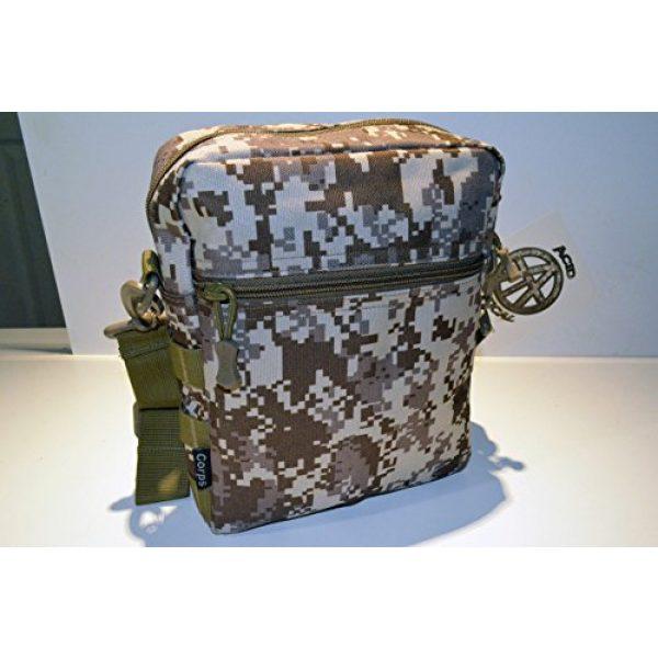 Acid Tactical Tactical Pouch 4 Acid Tactical MOLLE First Aid Bag Pouch Trauma EMT Medic Utility - Desert MarPat Digital Camo