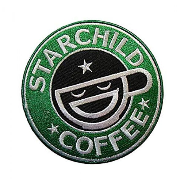 Embroidery Patch Airsoft Morale Patch 2 Ghost in The Shell Stand Alone Complex Laughing Man Military Hook Loop Tactics Morale Embroidered Patch