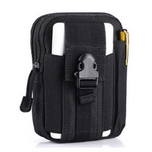 FiveloveTwo Tactical Pouch 1 FiveloveTwo Small Multi-Purpose Poly Tool Holder EDC Pouch Waist Bag Military Nylon Utility Tactical Molle Pack Camping Hiking Pouch