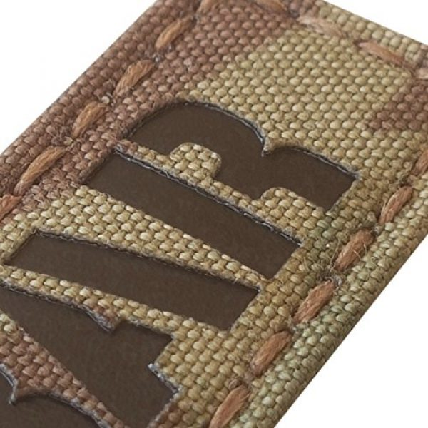 Tactical Freaky Airsoft Morale Patch 3 Fubar 1x3.5 Multicam Infrared Name Tape Tab Callsign IFF Morale Hook-and-Loop Patch