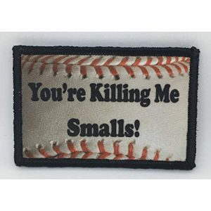 "RedheadedTshirts Airsoft Morale Patch 1 ""You're Killing Me Smalls Morale Patch Funny Tactical Military. 2x3"" Hook and Loop Made in The USA Perfect for Your Rucksack, Pack Bag, Molle Gear, Operator hat or Cap!"