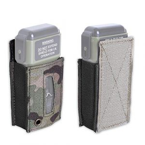KRYDEX Tactical Pouch 1 KRYDEX MS2000 Strobe Pouch Tactical Strobe Light Pouch Carrier with Hook