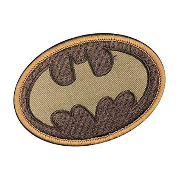 Embroidery Patch Airsoft Morale Patch 2 Batman Military Hook Loop Tactics Morale Embroidered Patch