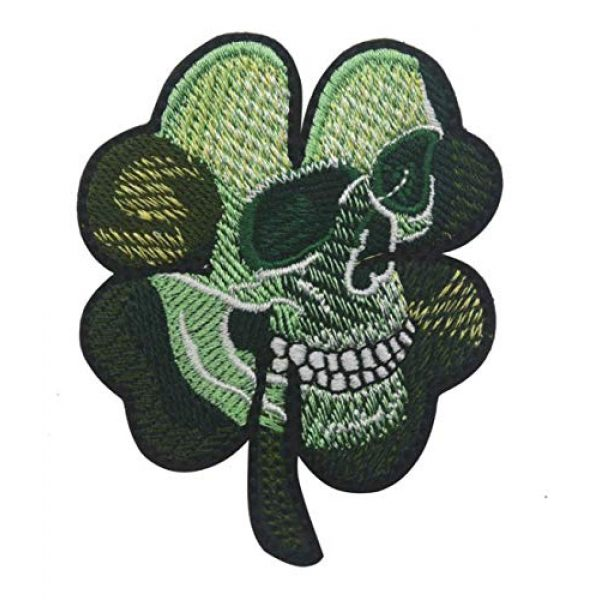 Tactical Embroidery Patch Airsoft Morale Patch 1 Flower Skull Embroidery Patch Military Tactical Morale Patch Badges Emblem Applique Hook Patches for Clothes Backpack Accessories