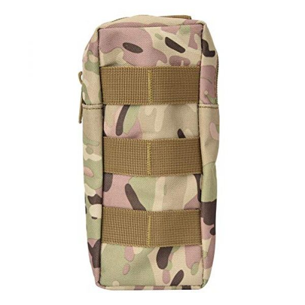 Pasamer Tactical Pouch 1 Pasamer Tacticals-Pouches,Nylon Waterproof Outdoor Camping Accessory Bags Hanging Waist Bag for Hiking Running Cycling Climbing Travel (CP)