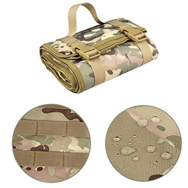 N  A Tactical Pouch 4 N  A Shooting Mat for Range, Shooting Mat, Shooting Gear Tactical Training Shooting Pad Rool-Up Shooters Mat Non-Slip Durable Shooting Rest