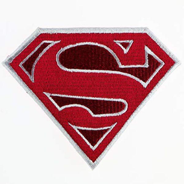 "JPT Airsoft Morale Patch 1 Ê""Ìá´""ÌÊ Superman Super Hero Movie Logo Embroidered Military Patch Vest Jacket Emblem Sew Iron on Patch"
