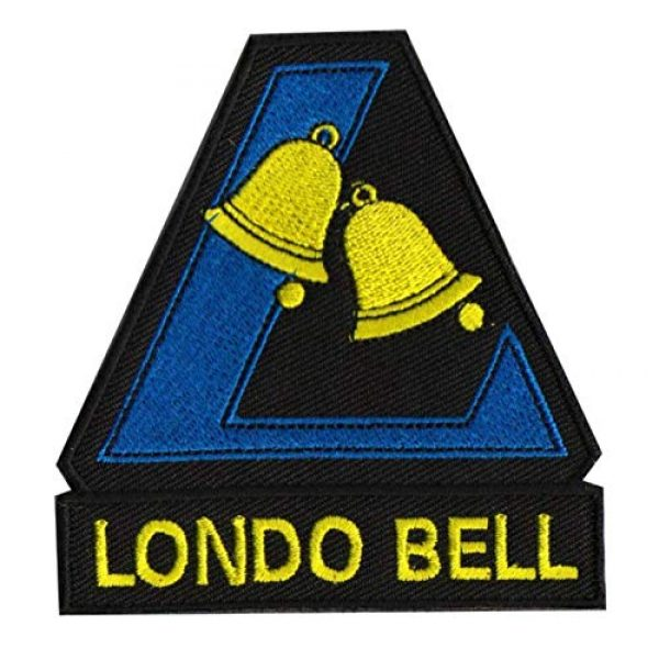 Embroidered Patch Airsoft Morale Patch 1 Mobile Suit Gundam Londo Bell 3D Tactical Patch Military Embroidered Morale Tags Badge Embroidered Patch DIY Applique Shoulder Patch Embroidery Gift Patch