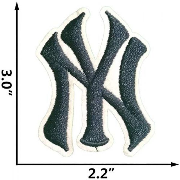 """Addones Airsoft Morale Patch 4 5 Random Baseball Team Logo Embroidered Patch Iron On Sew On Appliques Morale Hook and Loop Fasteners Backing Patches Sport Badge Emblem SignSize:2.2""""X3.0"""""""