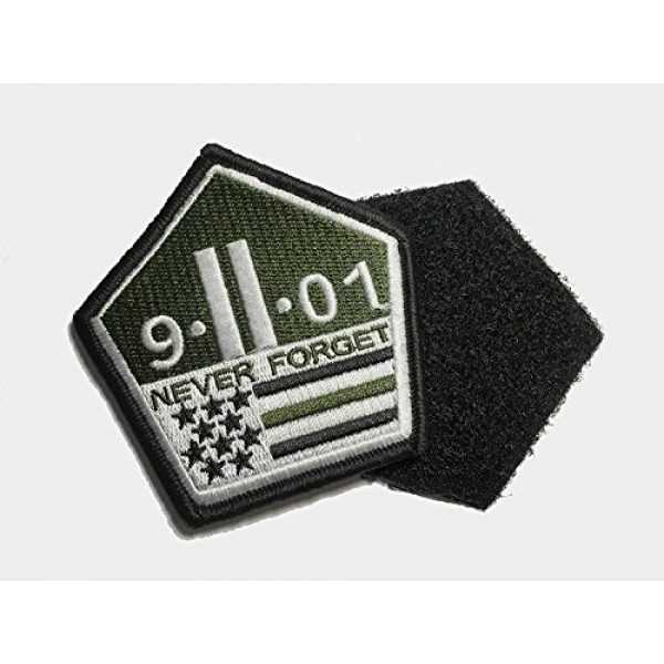 Pantel Tactical Airsoft Morale Patch 2 Multicam Us Made 9 11 Never Forget Patch Morale Military 911 Twin Towers