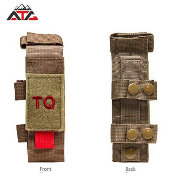 ATG Tactical Pouch 4 ATG Tactical Tourniquet & Trauma Medical Shear Pouch MOLLE PALS Duty Belt Loop EMT EMS