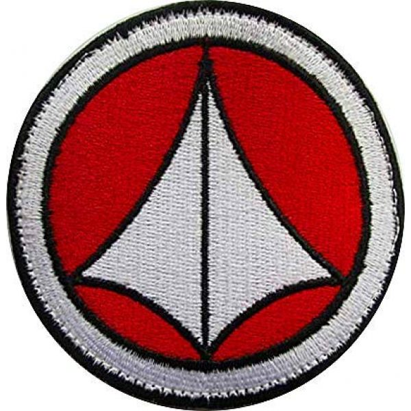 Embroidery Patch Airsoft Morale Patch 1 Robotech Macross Logo Military Hook Loop Tactics Morale Embroidered Patch