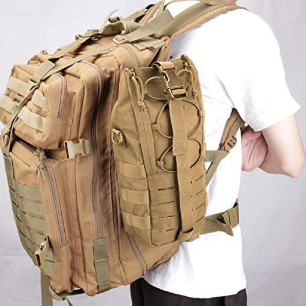 AMYIPO Tactical Pouch 7 AMYIPO Water Bottle Pouch Molle Tactical Holder Storage Bag