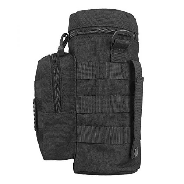 AMYIPO Tactical Pouch 6 AMYIPO Tactical MOLLE Water Bottle Pouch Holder Storage Bag for 32oz Carrier