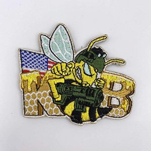 Killer Bee Airsoft Airsoft Morale Patch 1 Killer Bee Embroidered Moral Patch