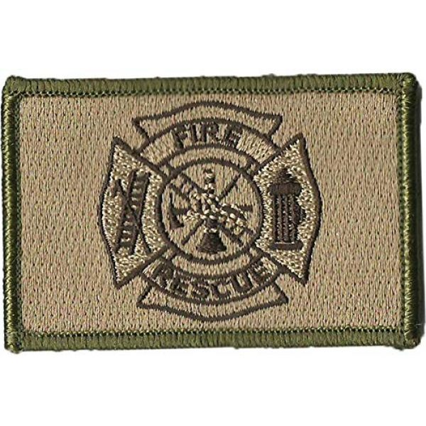 Gadsden and Culpeper Airsoft Morale Patch 2 Fire Rescue Tactical Patches