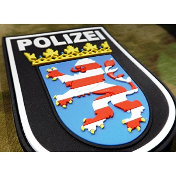 Jackets To Go Airsoft Morale Patch 3 Jackets To Go JTG German Police Hessen 3D Patch - fullcolor