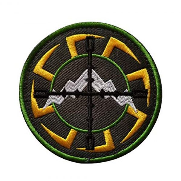 Tactical Embroidery Patch Airsoft Morale Patch 1 Russia FSB ALFA Team Kolovrat Russian Embroidery Patch Military Tactical Morale Patch Badges Emblem Applique Hook Patches for Clothes Backpack Accessories